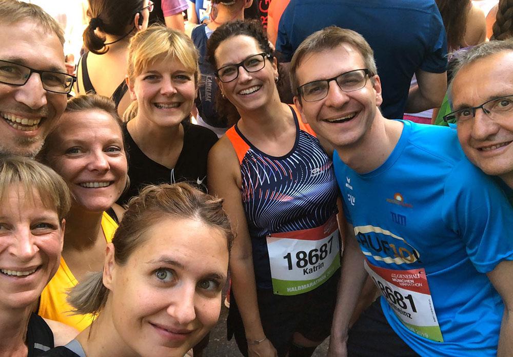 """Das erfolgreiche Team """"Halbmarathon"""""""